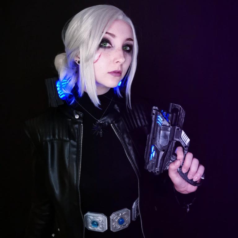 Ciri - Cyberpunk 2077
