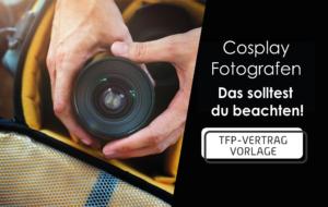 Read more about the article Cosplay Fotografen – das solltest du beachten!
